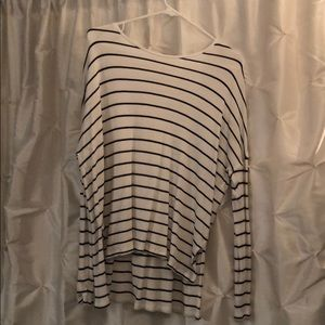 Aerie real soft ribbed/ waffle knit long sleeve